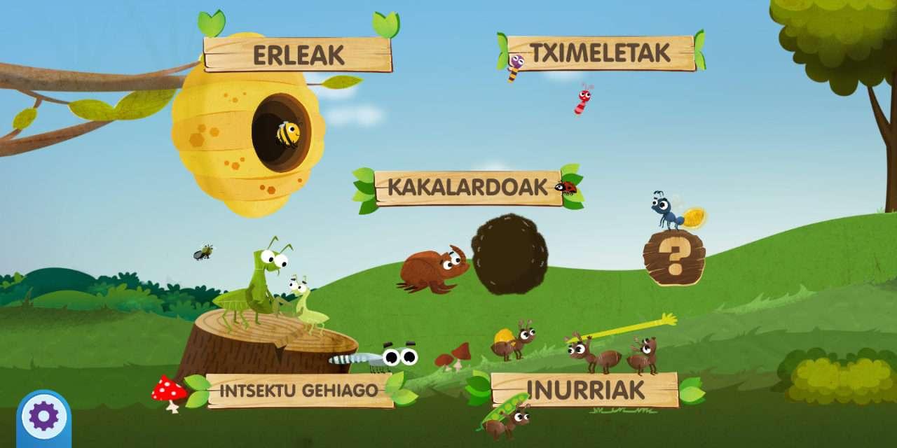 Zomorroak I : app en euskera para los locos de los bichos