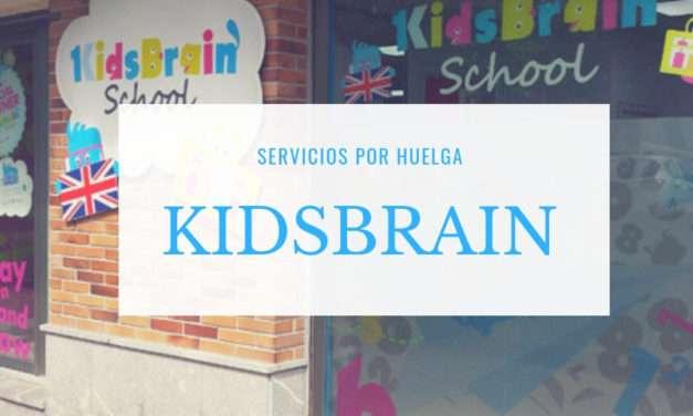 En KidsBrain servicio especial por huelga en los colegios concertados