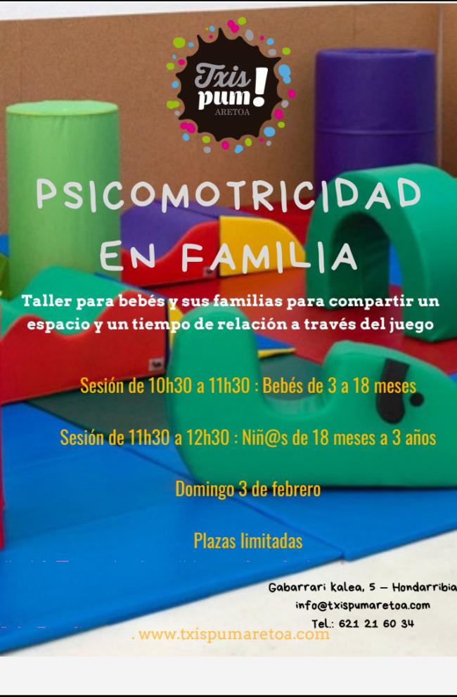 PSICOMOTRICIDAD EN FAMILIA-hondarribia