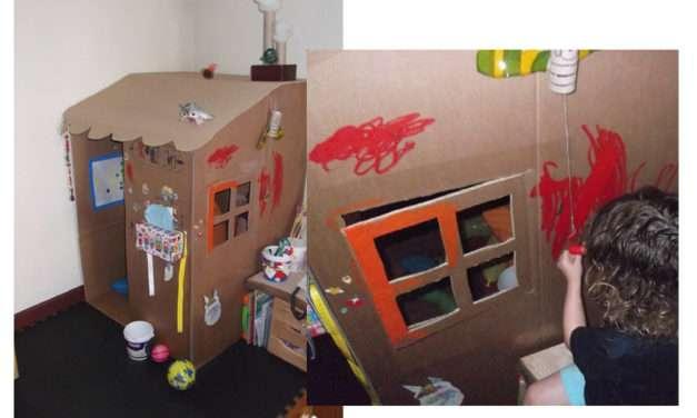 Manualidad: casas de cartón #23 con Anana Art