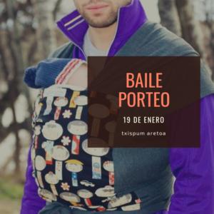 porteo bebés-baile-txispum aretoa-Hondarribia