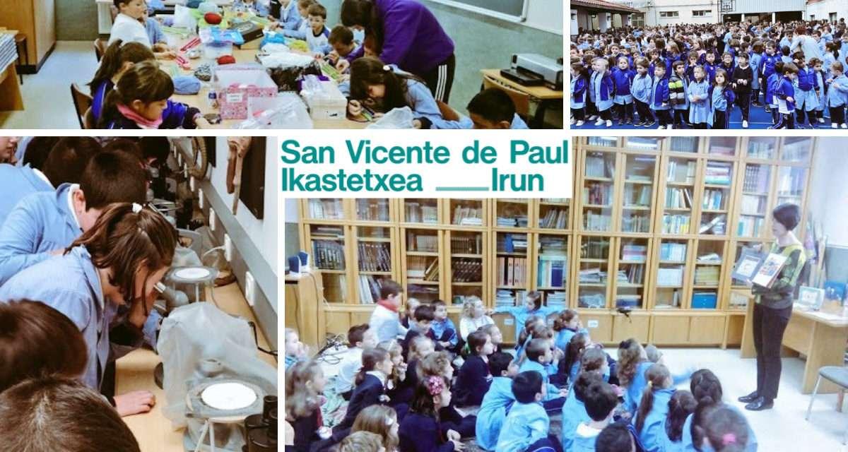 San Vicente de Paul Ikastetxea : jornadas de puertas abiertas para conocer el centro