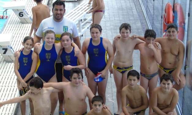 Waterpolo para niños en el Bidasoa XXI Irun