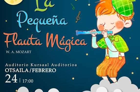 Ópera para niños: «la pequeña flauta mágica» de Mozart en el Kursaal de Donostia San Sebastián