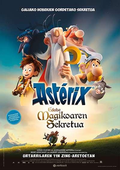 """Cine familiar: """"Asterix eta edabe magikoaren sekretua"""""""