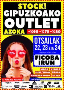feria outlet gipuzkoa-ficoba-Irun
