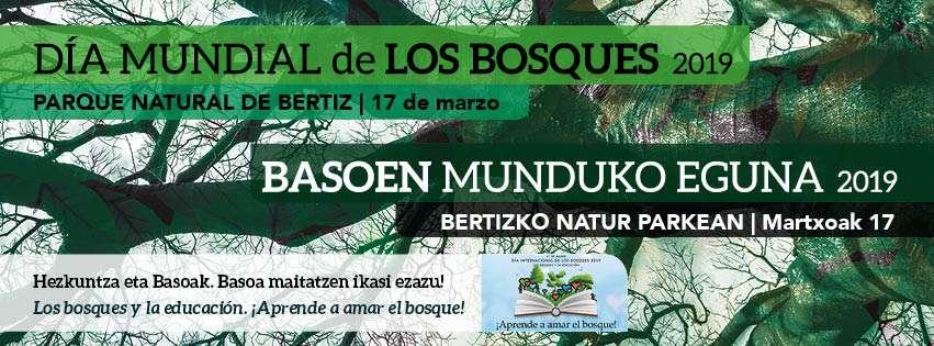 Celebrar el día mundial de los bosques en Bertiz este próximo domingo