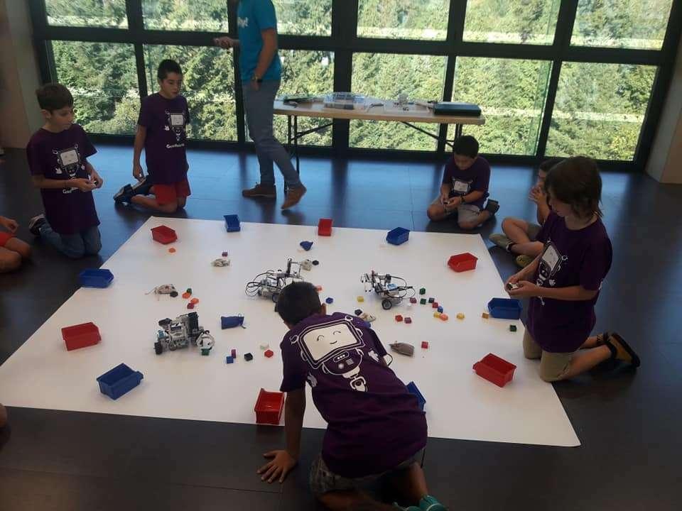 Campamentos de robótica este verano en Irun con Doplay!-IRUN