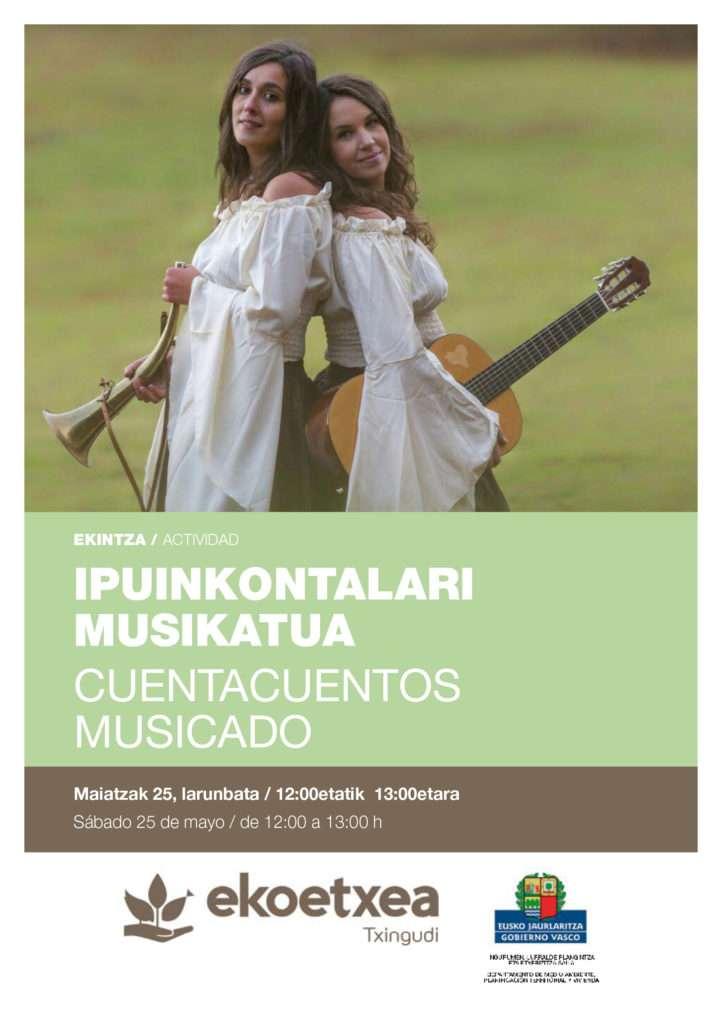 CUENTACUENTOS MUSICADO-TXINGUDI EKOETXEA-IRUN