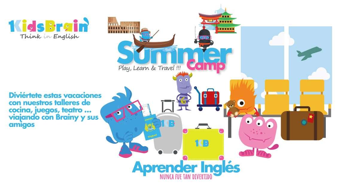 Summer Camp Kids Brain Irun