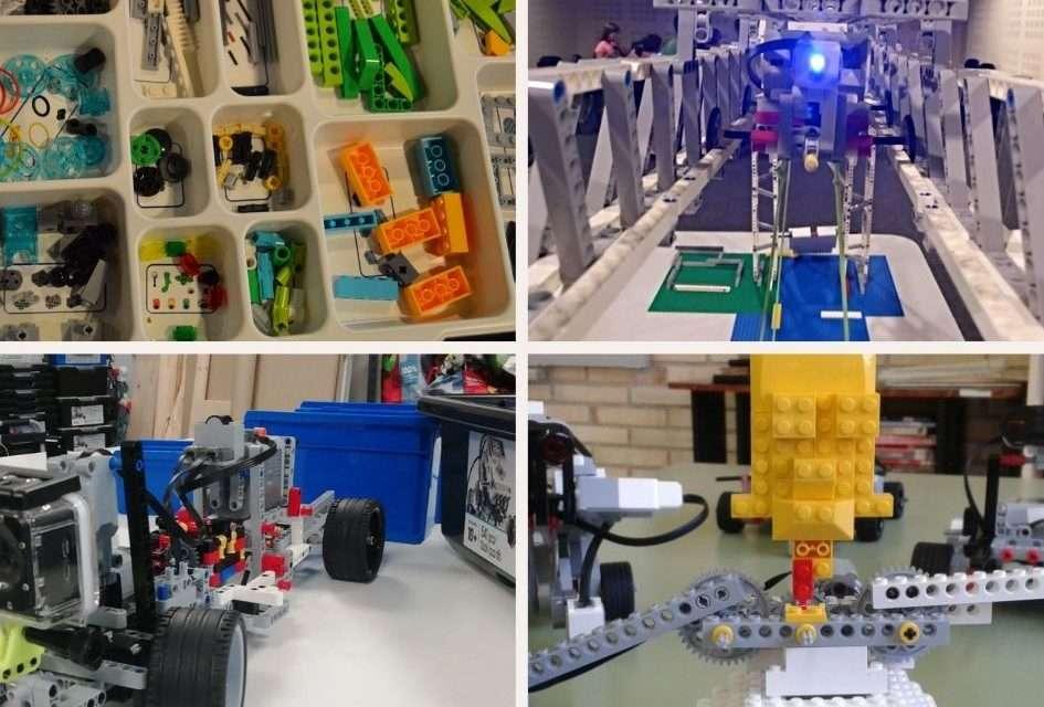 Campamentos de robótica este verano en Irun con Doplay