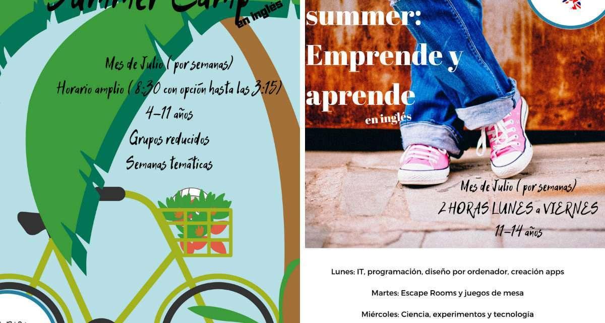 Summer camp y Teens Summer Camp con Chris´ Escuela de Idiomas en Irun