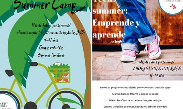 Summer camp y Teens Summer Camp con Chris´ Escuela de Idiomas en Irun