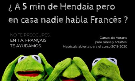 Aprender francés en T.A. Français en verano y durante todo el año