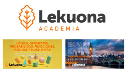 Matemáticas manipulativas, inglés y refuerzo escolar en Lekuona Akademia