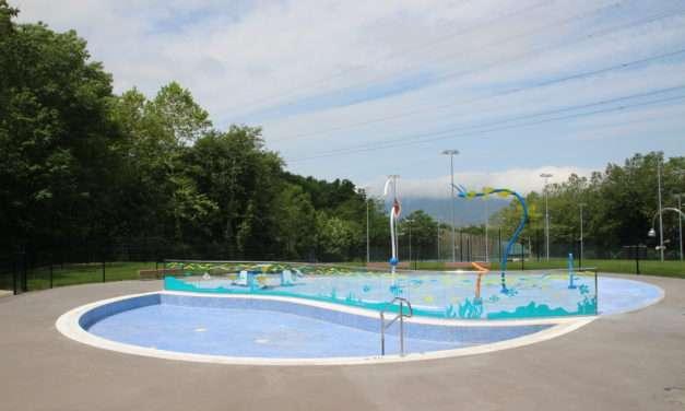 Se abre la temporada de piscinas en el espacio deportivo San Marcial-Txingudi de Irun