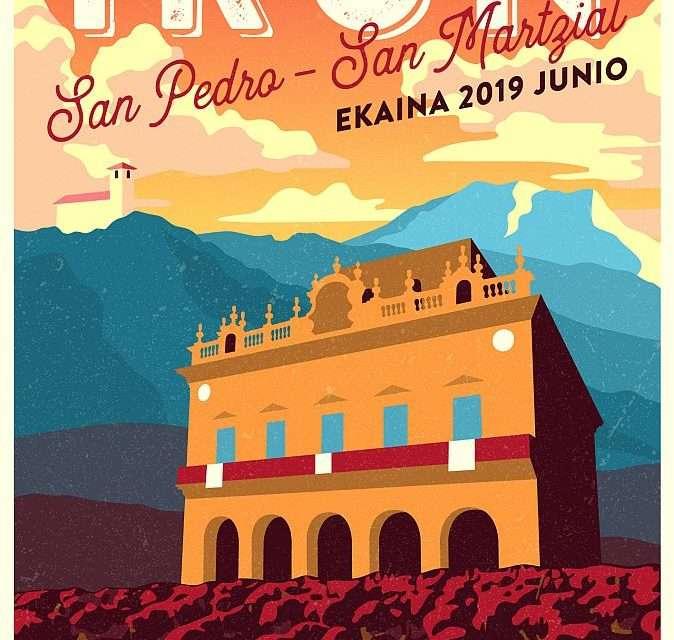 Programa de fiestas de San Pedro y San Marcial 2019, en Irun