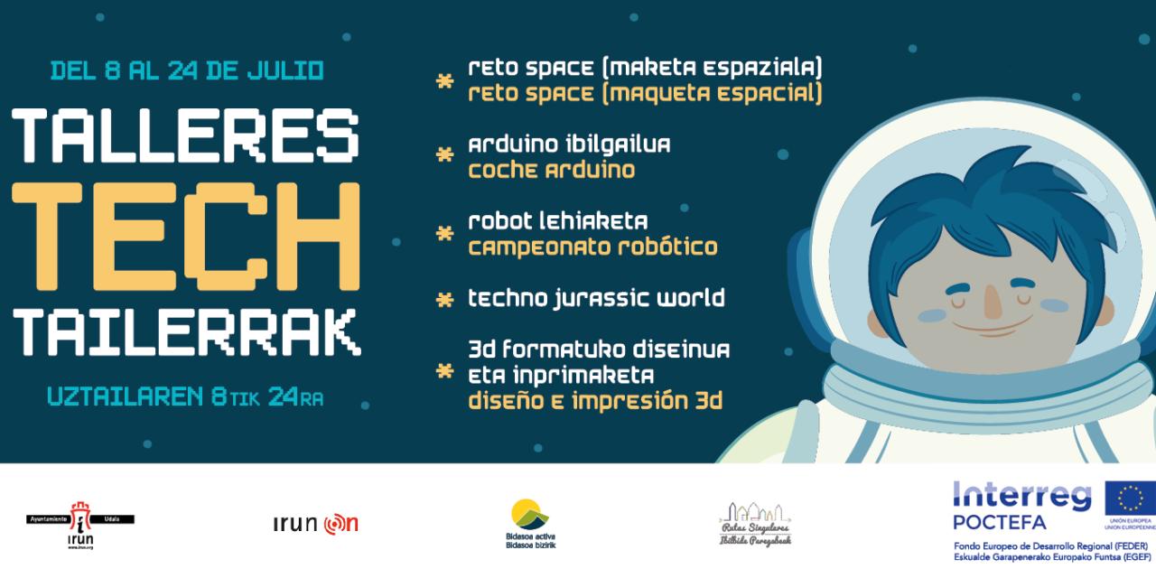 Talleres Tech Irun verano 2019