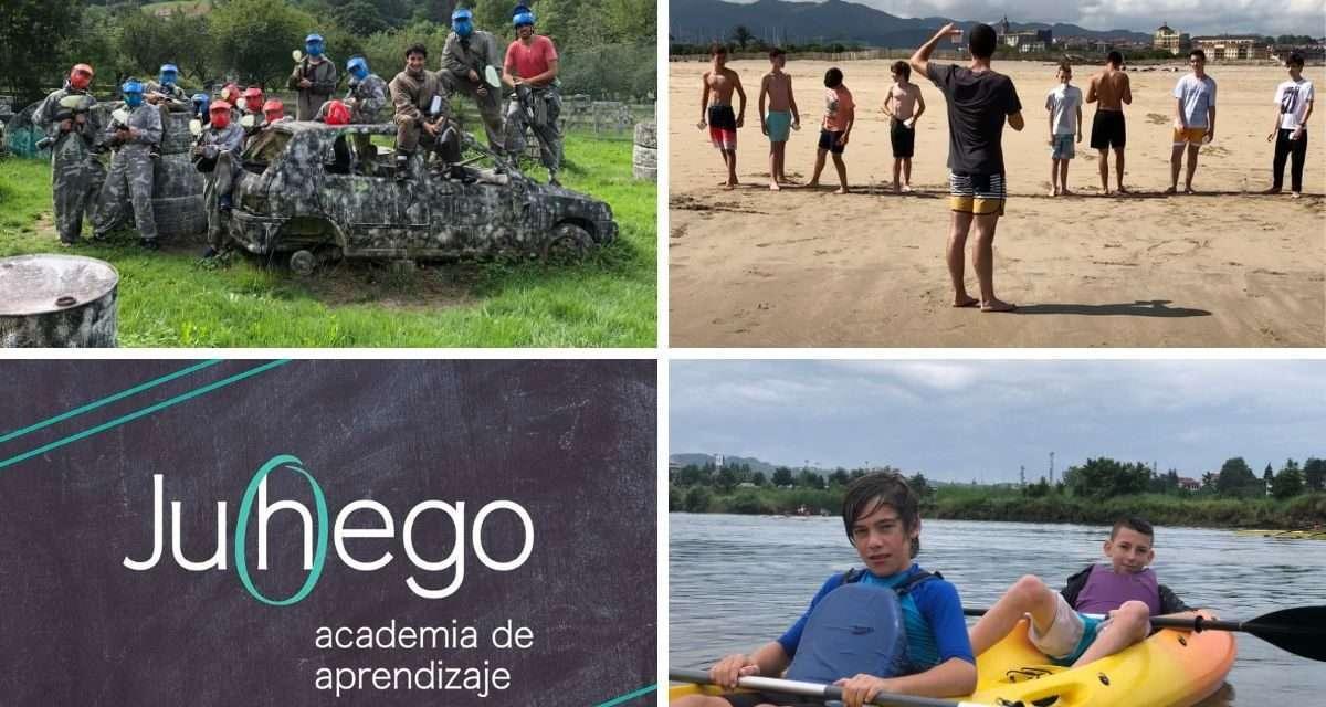 Ludoteca de verano en inglés en Irun, con Academia Juhego