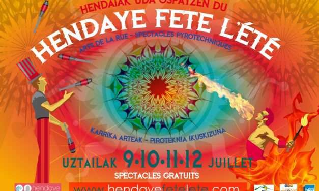 Hendaye fête l´été : espectáculos de calle en Hendaia