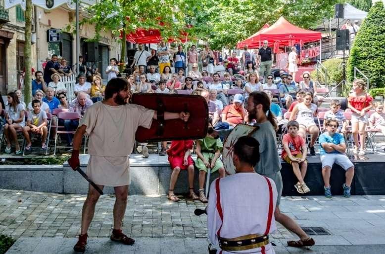 Programa X edición Festival romano Dies Oiassonis 2019