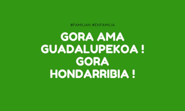Programa de fiestas de Hondarribia 2019, ensayos y alarde. Gora Hondarribia !