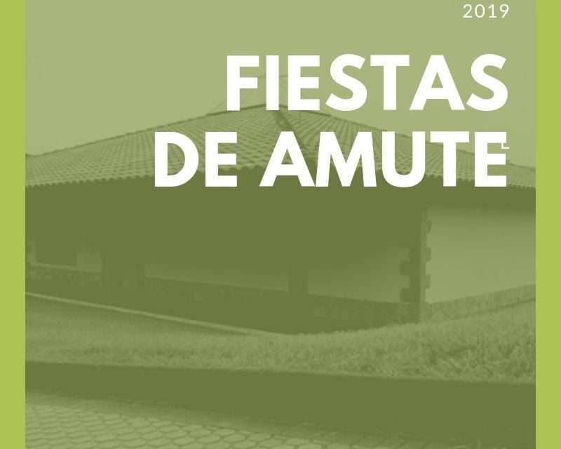 Fiestas del Barrio de Amute, Hondarribia 2019