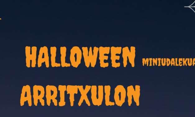 Minicampamento de Halloween en Arritxulo
