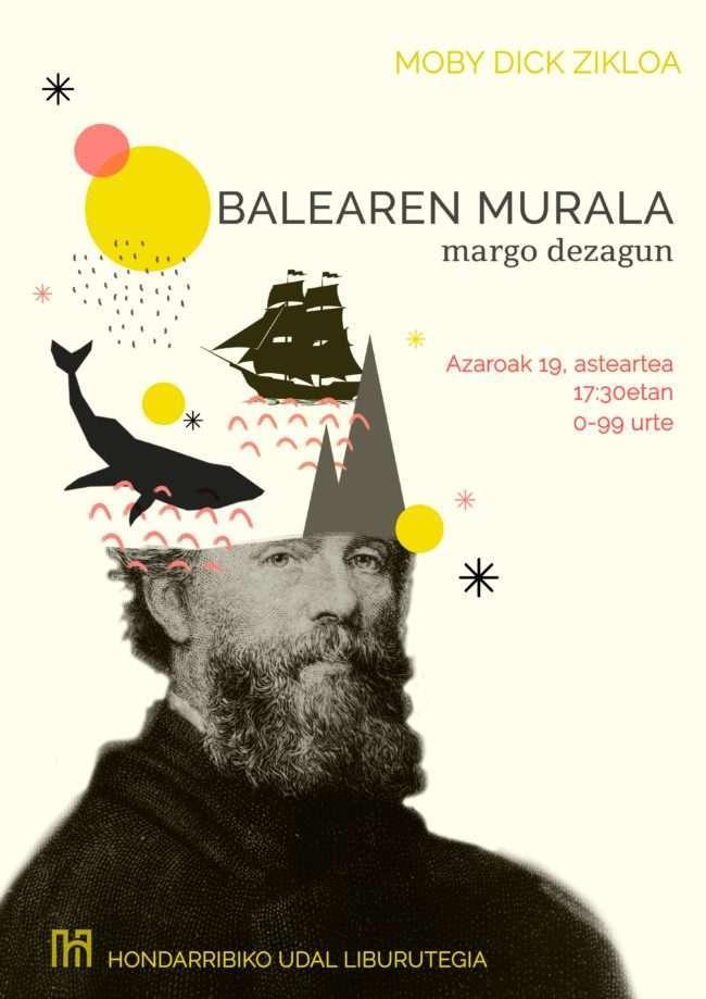 BALEAREN MURALA-hondarribiko liburutegia-Hondarribia