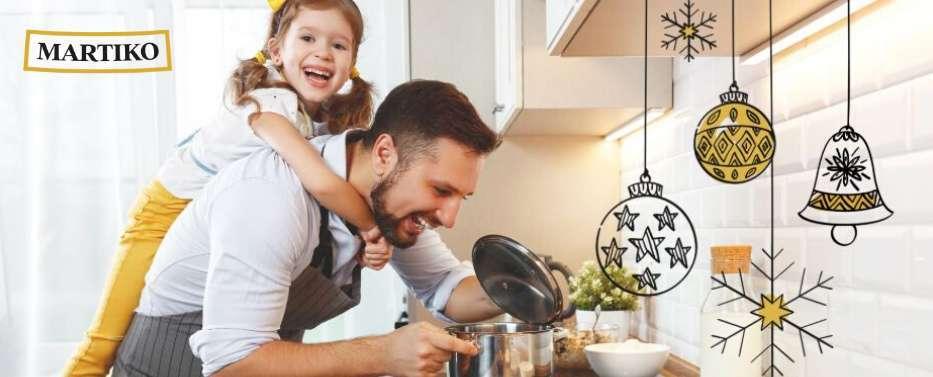 Cocinando y dibujando en familia con Martiko