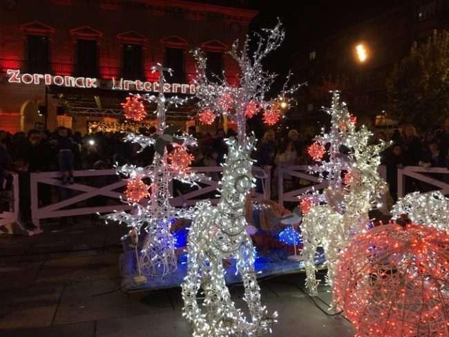 Encendido de las luces de Navidad -Irun