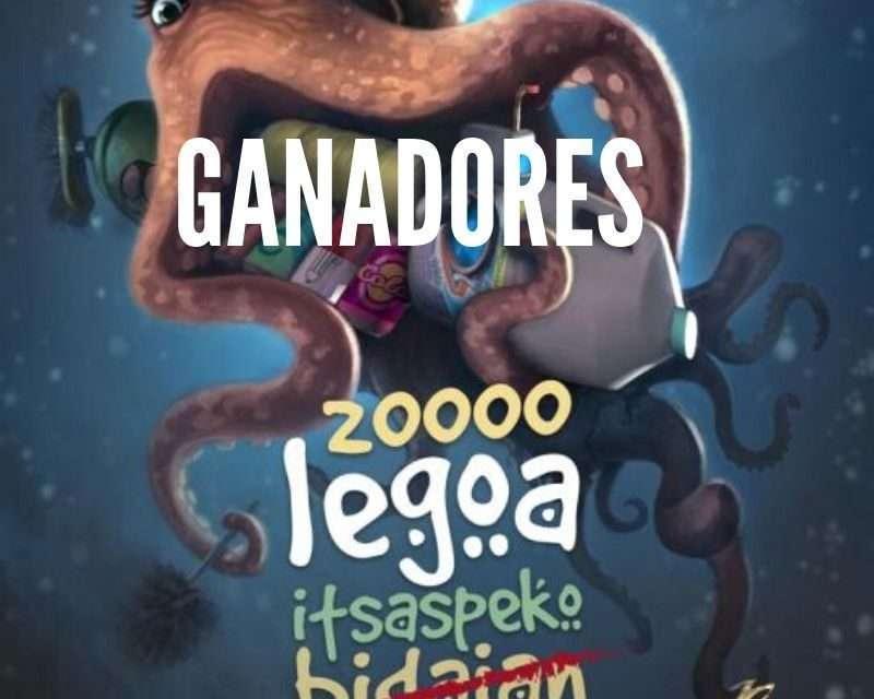 Ganadores para la obra de teatro familiar «2000 legoa itsaspeko zaborretan»