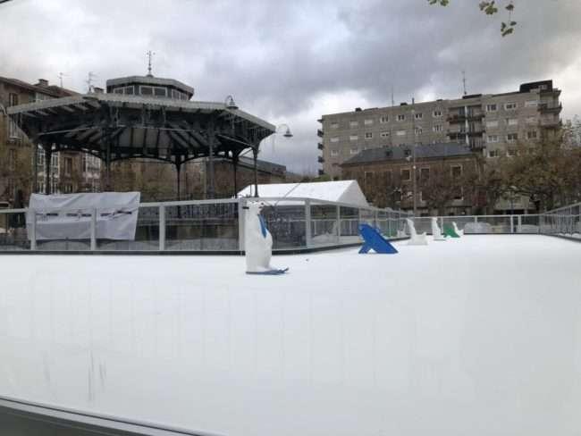 pista de hielo-IRUN
