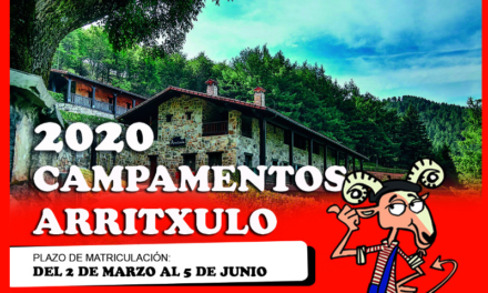 Campamentos en Arritxulo 2020