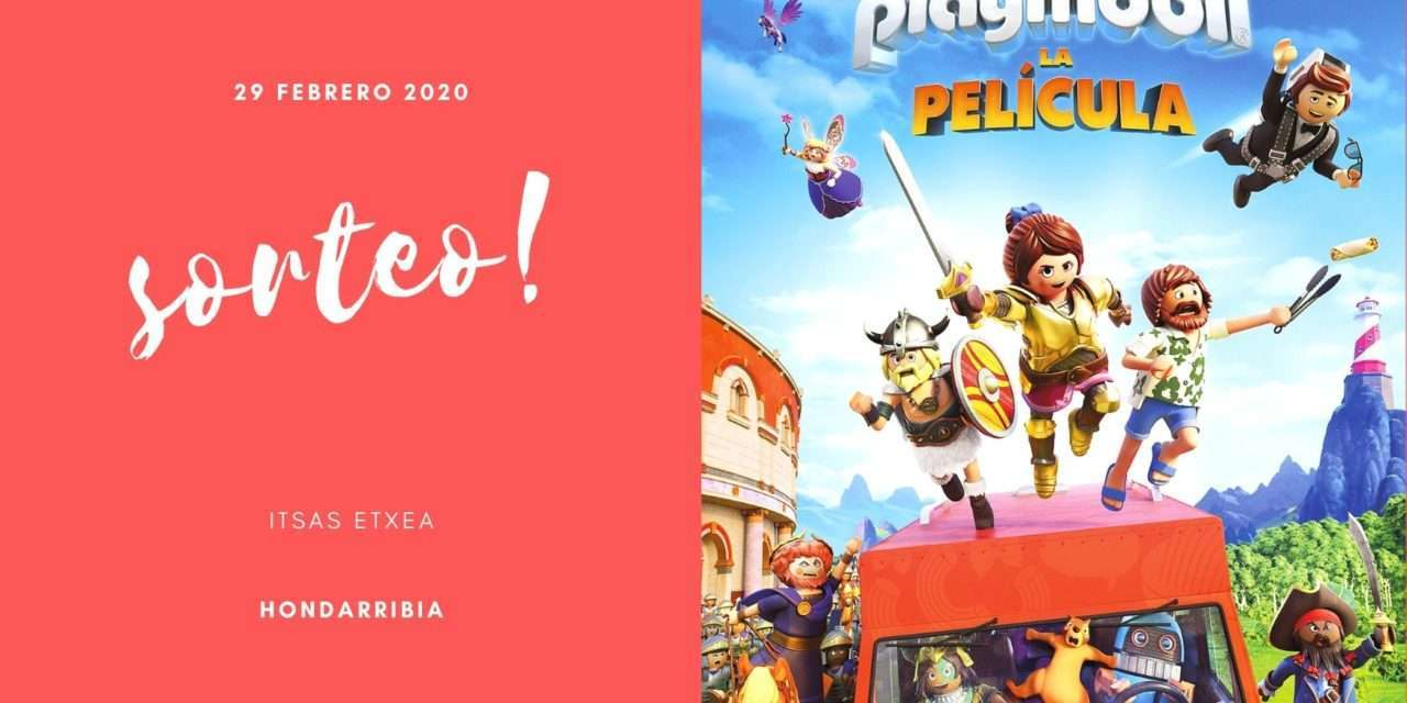 Sorteamos entradas para la película de «Playmobil»  en Hondarribia