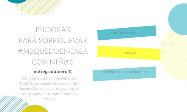 Plastilina casera, Art for Kids Hub y lentejas