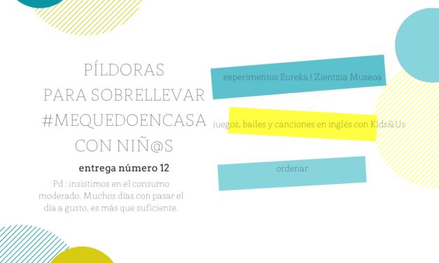 Actividades para hoy : Experimentos con Eureka!, inglés con Kids&Us y un poquito de orden