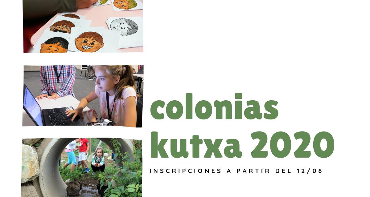 Las colonias de Kutxa se ponen en marcha