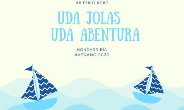 El Ayuntamiento de Hondarribia mantiene UDA JOLAS Y UDA ABENTURA ESTE VERANO