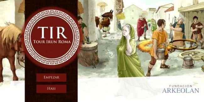 tour irun romano-Irun